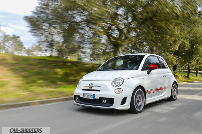 camera car fiat abarth cinquecento esseesse turbo benzina