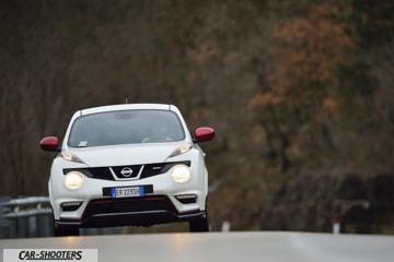 pietro montagna di automotive space guida la nissan juke nismo a monte morello