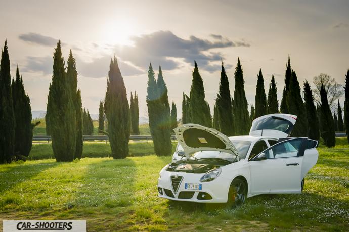 Alfa Romeo Giulietta tutto aperto