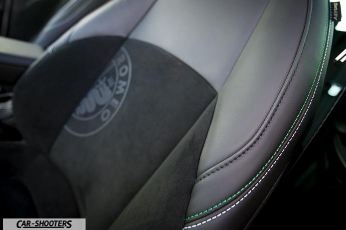 Alfa Romeo Giulietta dettaglio sedile anteriore