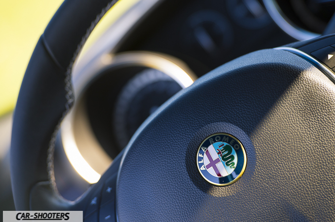Alfa Romeo Giulietta dettaglio logo volante