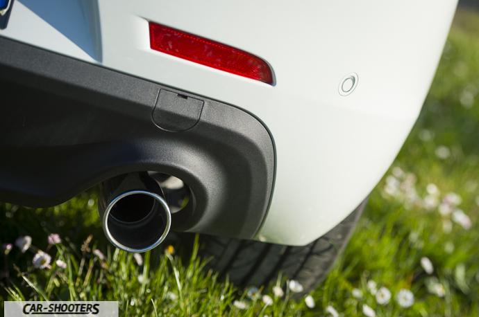 Alfa Romeo Giulietta dettaglio scarico marmitta