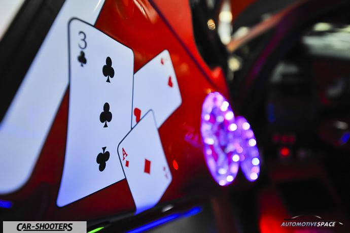 dettaglio auto tuning poker mania portiera