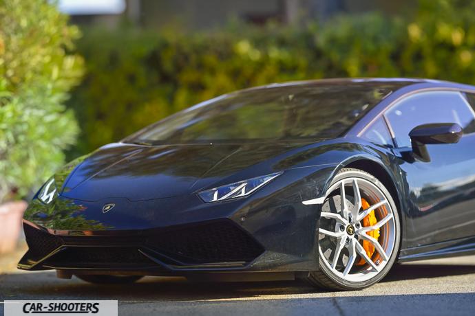 Lamborghini Huracán particolare anteriore