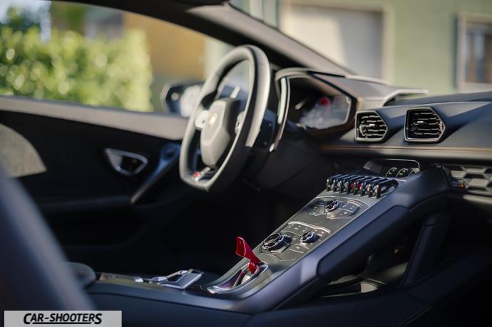Lamborghini Huracán HDR interni