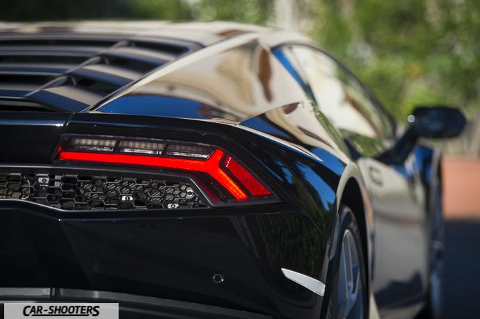 Lamborghini Huracán dettaglio faro posteriore