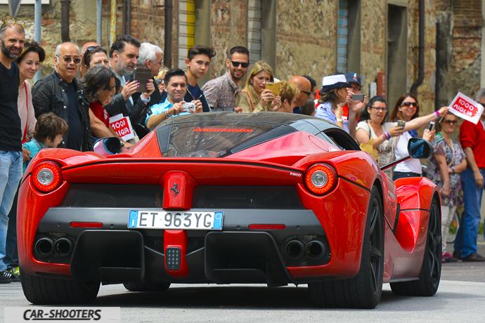 Laferrari al Ferrari Tribute for Millemiglia a Cascina