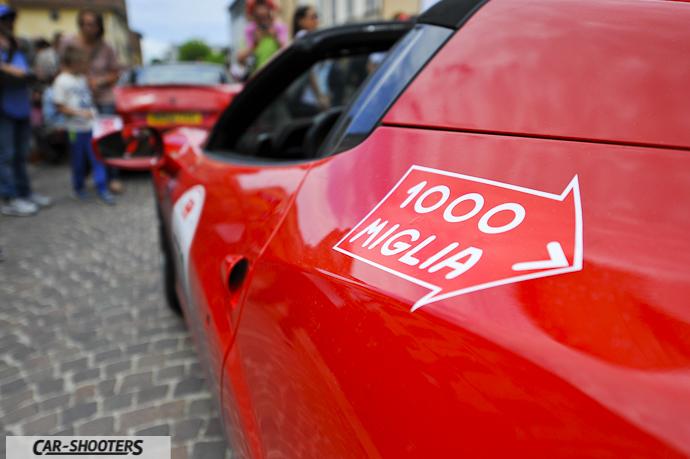 Ferrari 458 Spyder al Ferrari Tribute for Millemiglia
