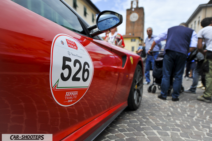 Ferrari 599 GTO al Ferrari Tribute for Millemiglia a Cascina