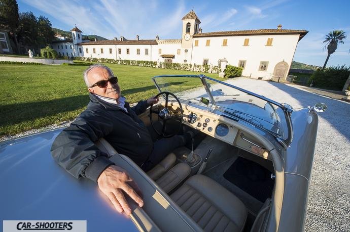 Jaguar XK120 e alfredo presidente veteran club pistoia