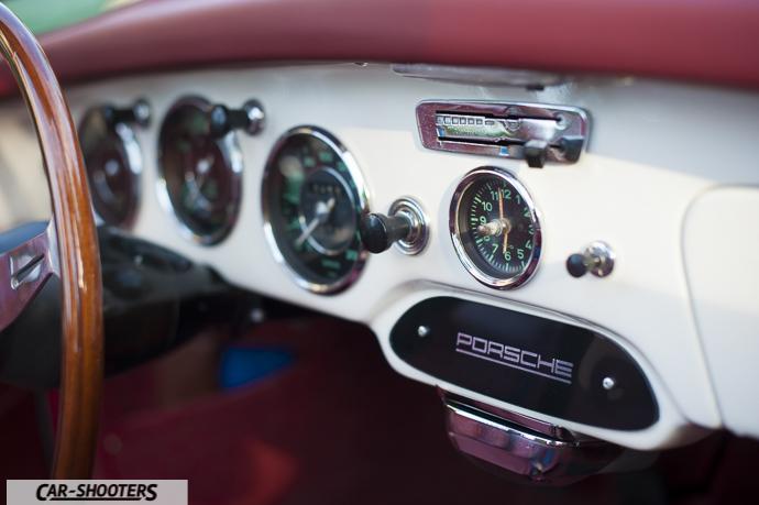 porsche 356 dettaglio dashboard