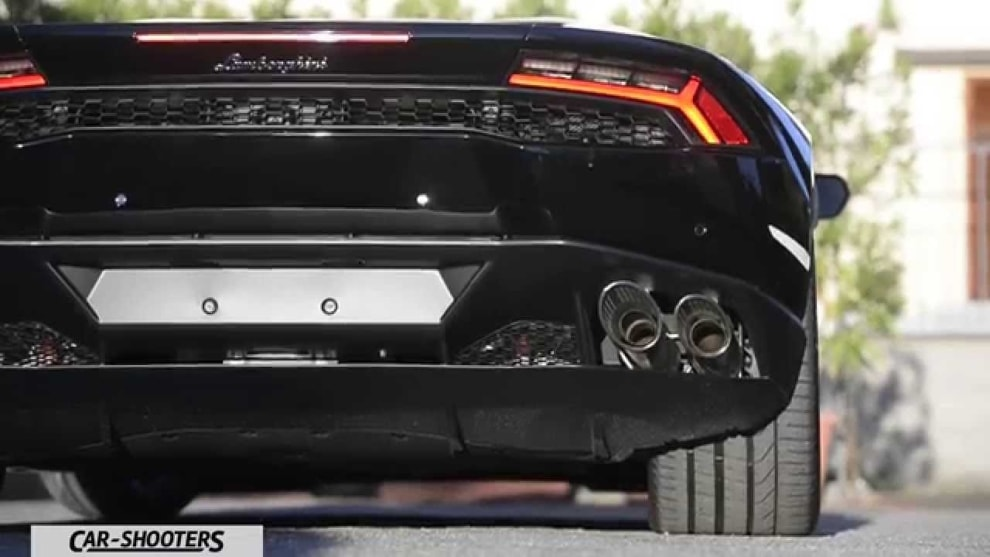L'emozione di una Supercar: Lamborghini Huràcan