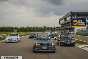 italian bimmerfest bmw 40 anni serie 3 autodromo di modena
