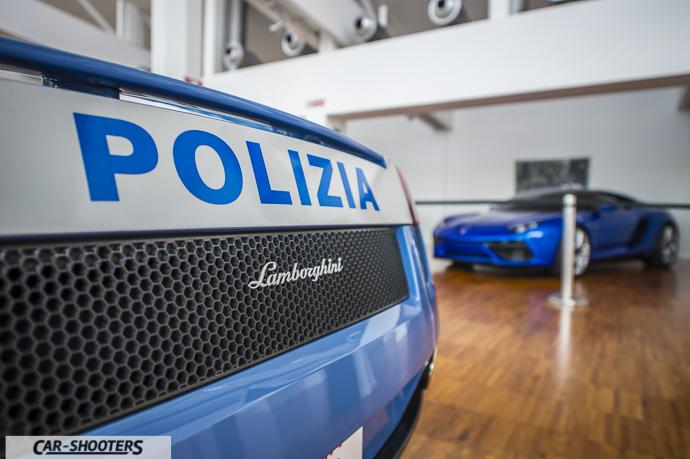 MUSEO LAMBORGHINI GALLARDO POLIZIA