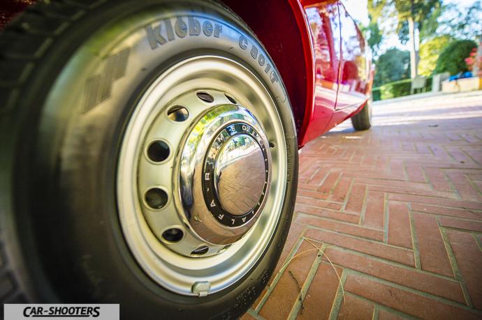 Alfa Romeo Giulia GT Junior dettaglio ruote