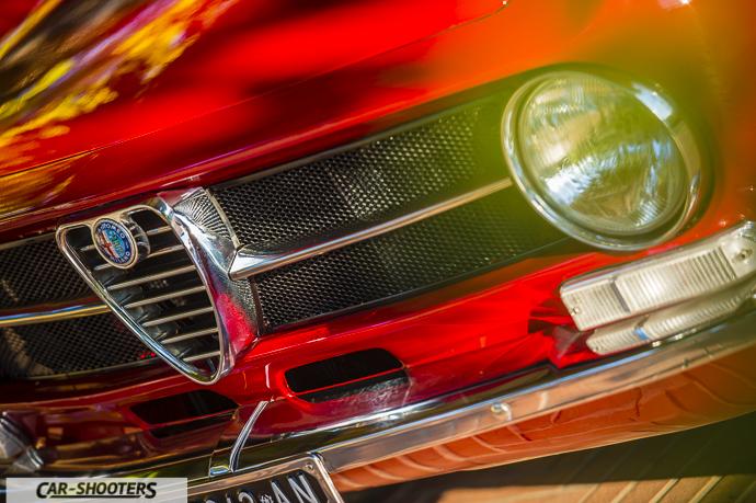 Alfa Romeo Giulia GT Junior dettaglio anteriore