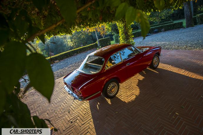Giulia GT Junior vista da punto più alto
