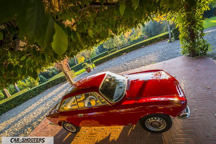 Alfa Romeo Giulia GT Junior vista da punto alto