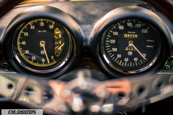 Alfa Romeo Giulia GT Junior dettaglio dashboard