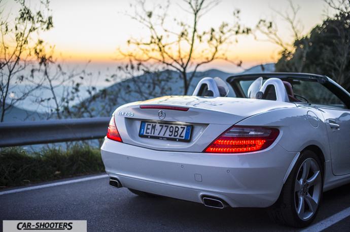 Dettaglio posteriore Mercedes SLK