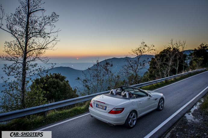 Mercedes SLK posteriore