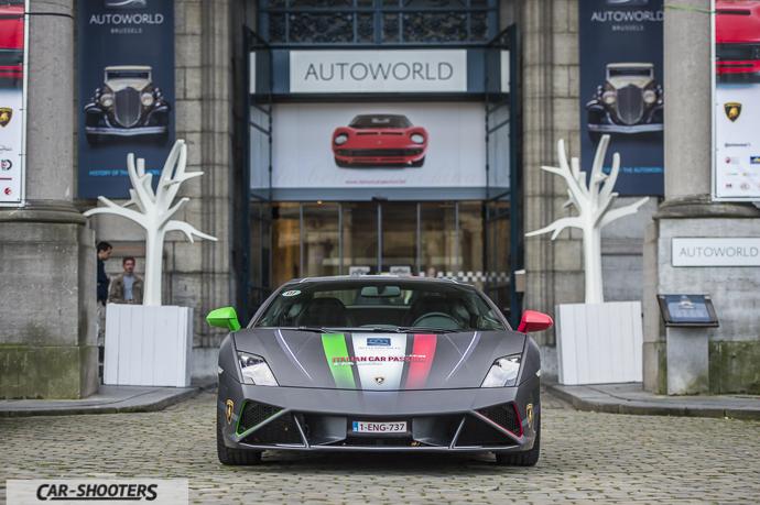 Lamborghini Gallardo ingresso Autoworld