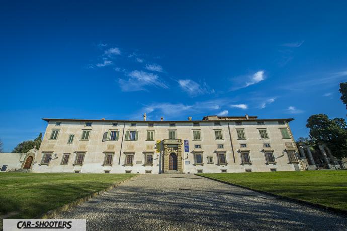 la villa reale di castello sede dell'accademia della crusca