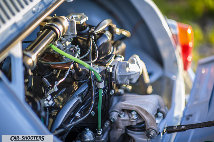 dettaglio motore Nuova Fiat 500 D