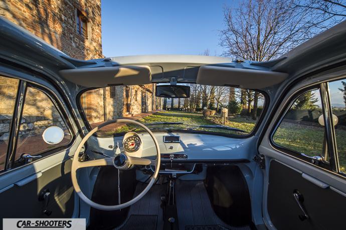 Nuova Fiat 500 D interni