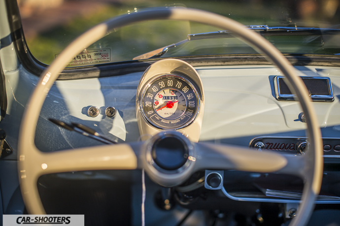 Nuova Fiat 500 D dashboard