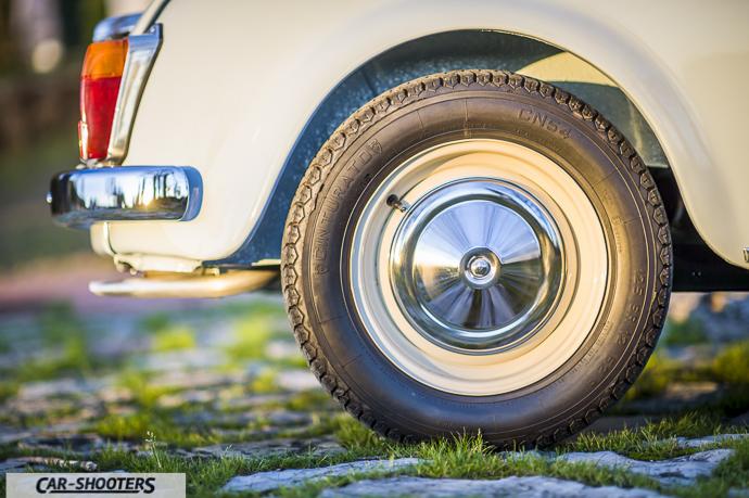 Nuova Fiat 500 D dettaglio ruota cerchione