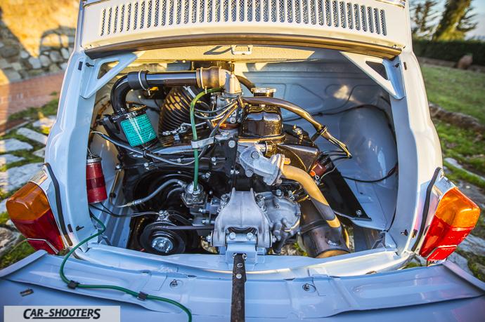 Nuova Fiat 500 D motore
