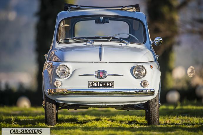 Nuova Fiat 500 D frontale