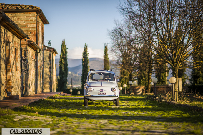 Nuova Fiat 500 D vista larga