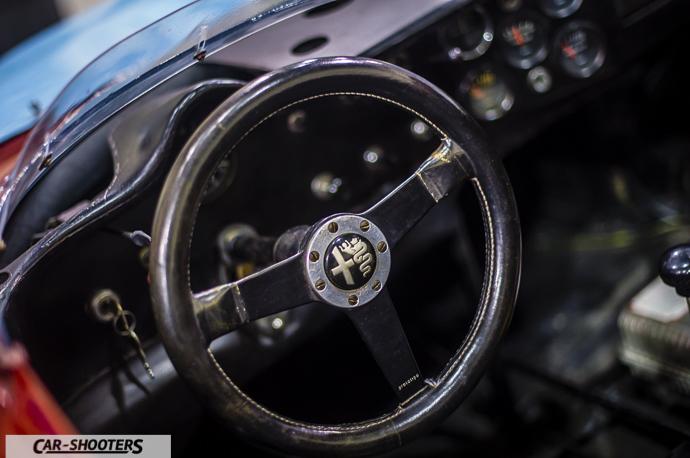 Dettaglio volante Alfa Romeo 33/3