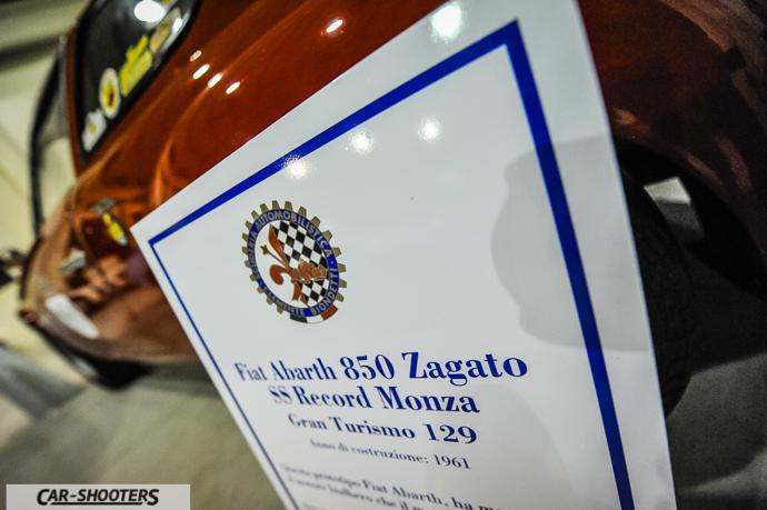 Abarth 850 Zagato SS Record Monza