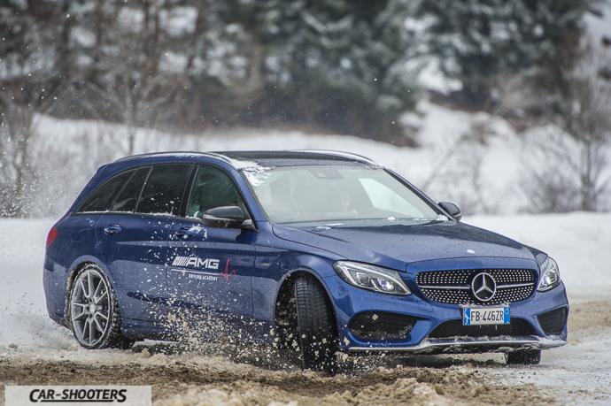 Mercedes-Benz 4MATIC oversteering