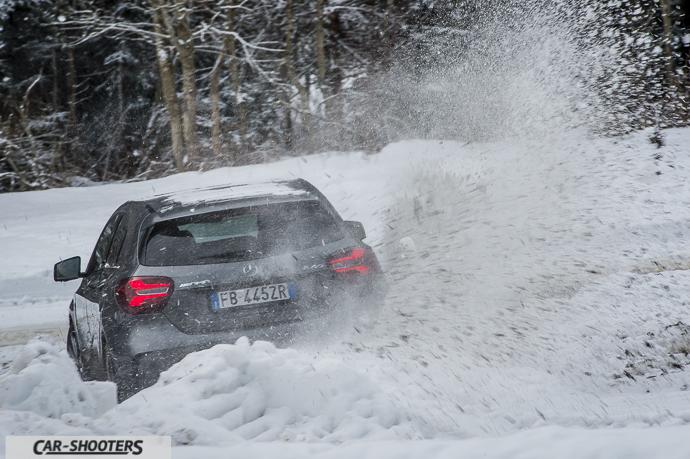 Mercedes-Benz Classe A AMG 4MATIC drifting