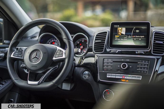 Interni Mercedes-Benz GLE Coupé 4MATIC