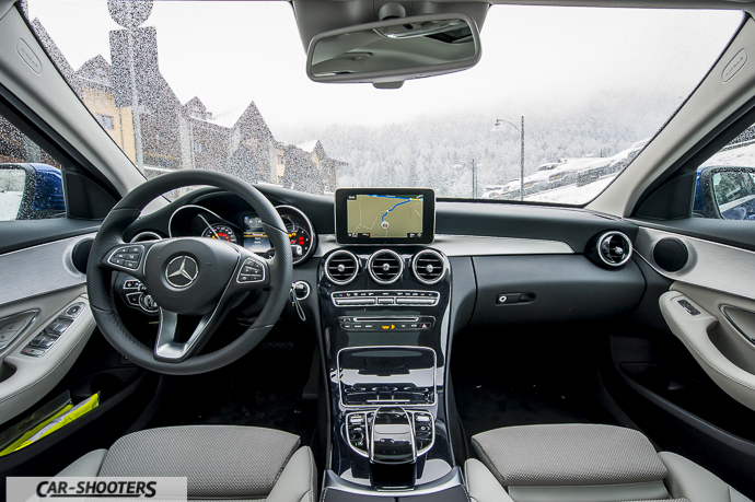 Interni Mercedes-Benz Classe C 4MATIC