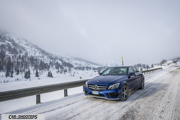 Passo del Tonale con Mercedes-Benz Classe C 4MATIC