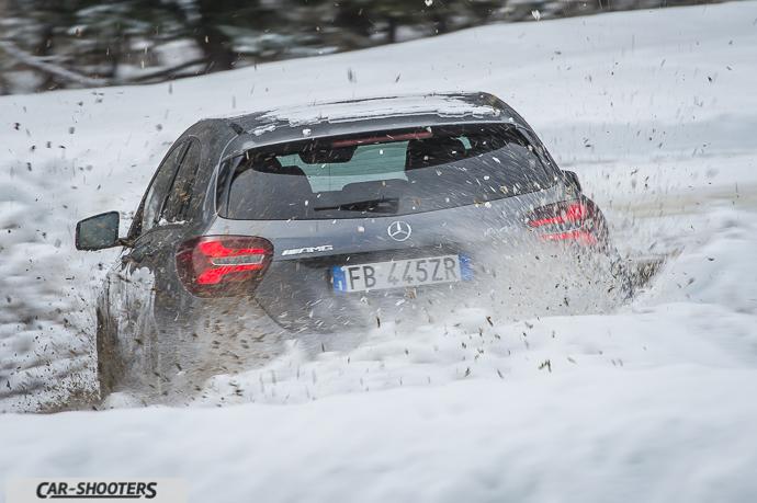 Spruzzo neve Mercedes-Benz Classe A 45 AMG