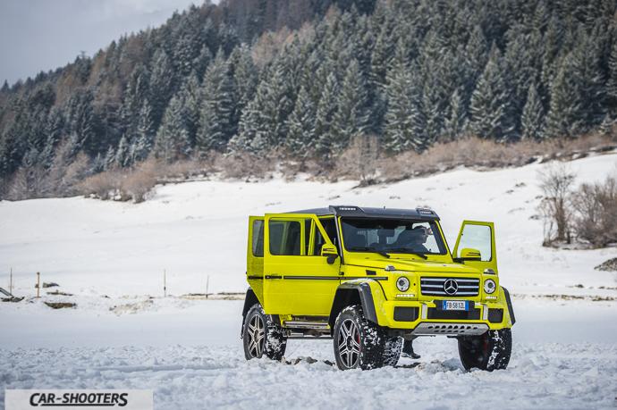 Mercedes-Benz Classe G squared