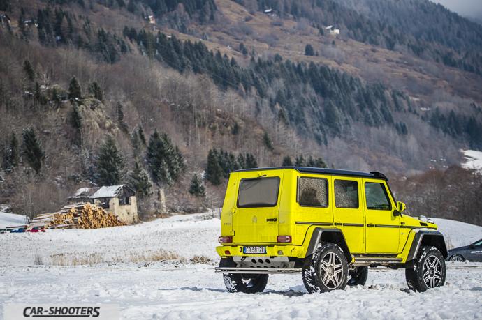 Mercedes-Benz Classe G squared vista posteriore