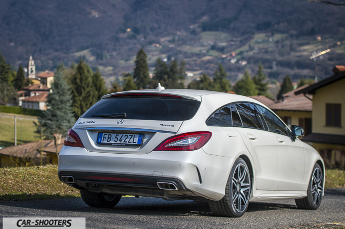 Posteriore Mercedes-Benz CLS Shooting Brake 4MATIC