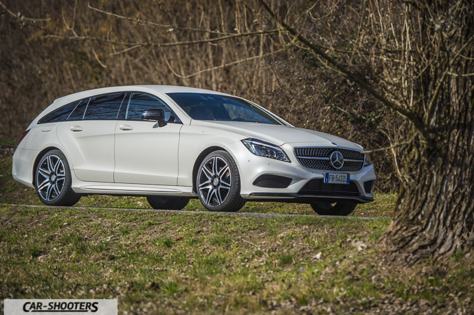 Vista Frontale Mercedes-Benz CLS Shooting Brake 4MATIC
