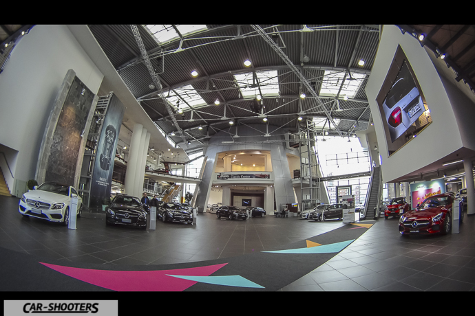 Interno Mercedes-Benz Centre Milano