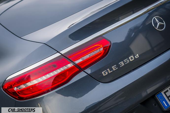 Dettaglio logo Mercedes-Benz GLE Coupé 4MATIC