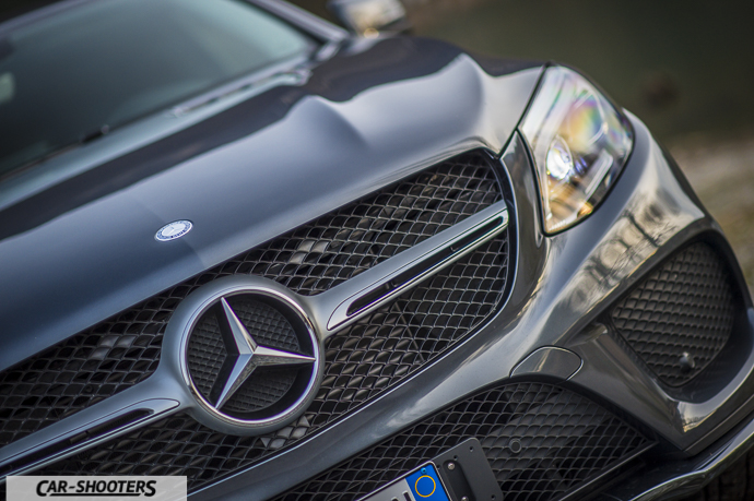 Dettaglio frontale Mercedes-Benz GLE Coupé 4MATIC