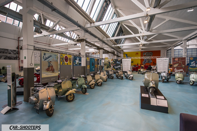 Panoramica Museo Piaggio di Pontedera